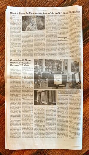 New York Times Brian Hawkins