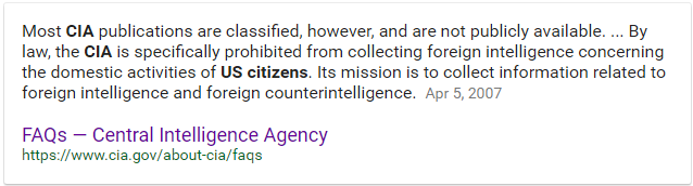 CIA FAQ Spying on US Citizens.png