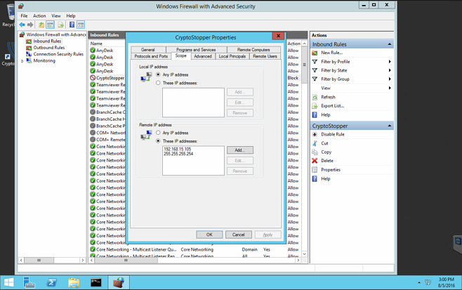 CryptoStopper io Demo – Isolate and Defeat TeslaCrypt Ransomware