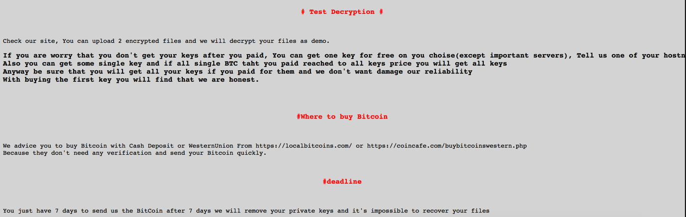 SamSam Ransomware Continues Attacks on Vulnerable Hospitals and Health Systems