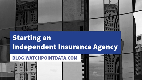 Starting an Independent Insurance Agency