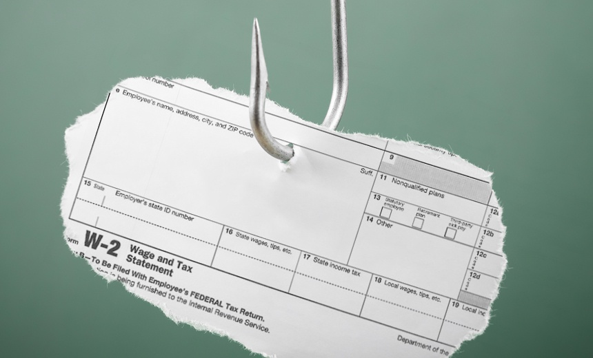 W-2 Phishing Scheme Evolves as End of Tax Season Nears