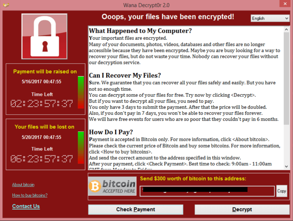 WannaCry Takeaways