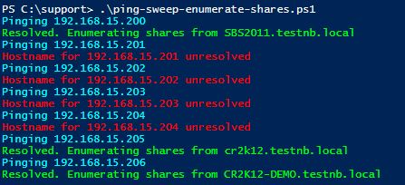 WatchPoint - Tip of the Week - Enumerate File Shares With Powershell